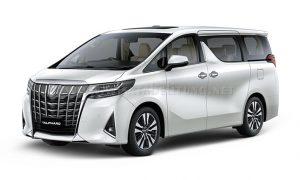 Rental Mobil Alphard Belitung